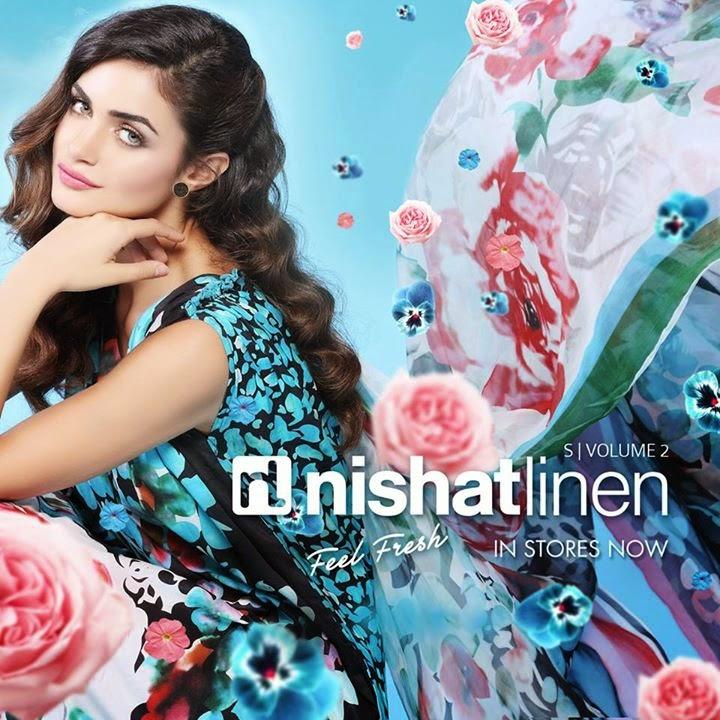 Nishat Linen Volume 2 Summer 2014..In stores NOW