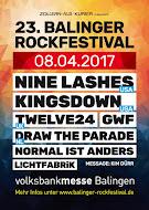 23. Balinger Rockfestival am 08.04.2017 in Balingen