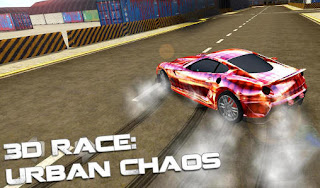 Screenshots of the 3d race: Urban chaos for Android tablet, phone.