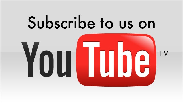 We're on YouTube, too!