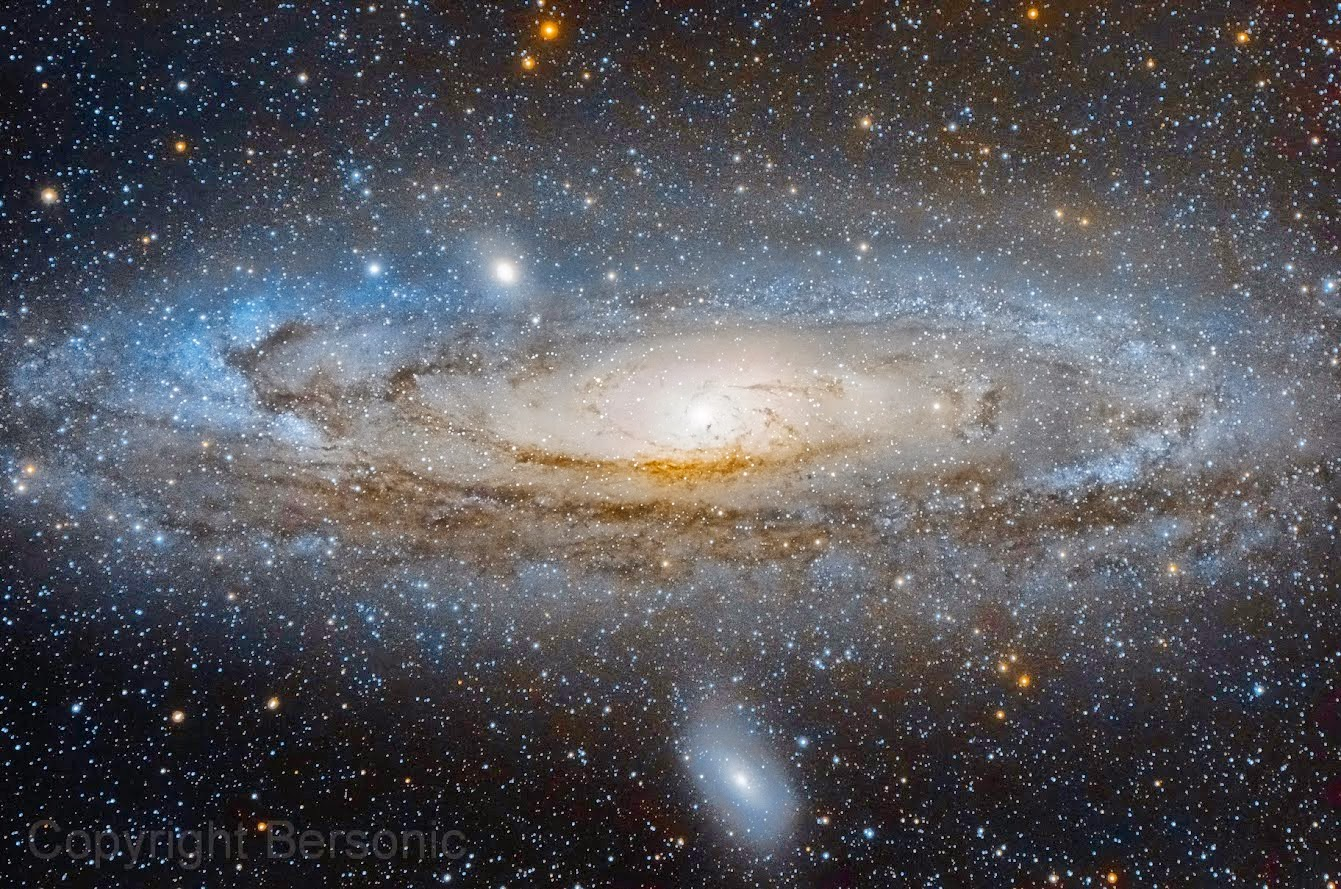 Galáxia de Andrômeda - M31