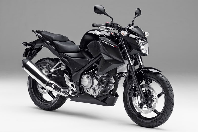 Galeri Photo New Honda CB250F 2014