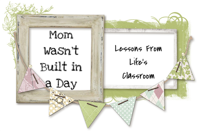 Mom Wasn't Built in a Day