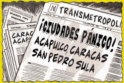 ilustración cómic portadas periódico