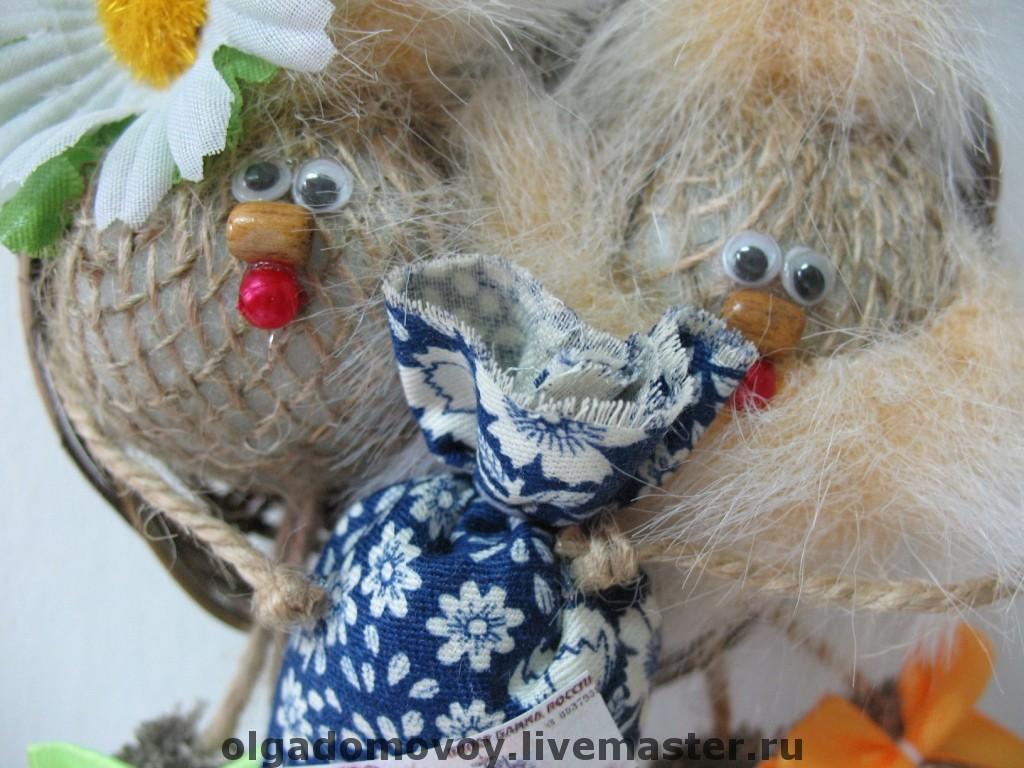 Сиреневое гнездышко персиковое