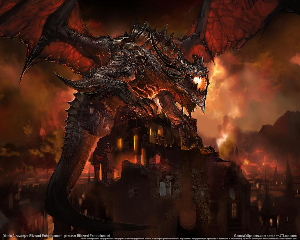Diablo HD & Widescreen Wallpaper 0.204663846625319