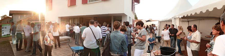 Maison passive au pays basque portes ouvertes maison for Constructeur maison wallonie