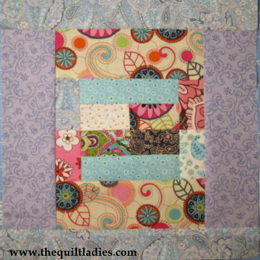 Quilting for Beginners: Log Cabin Quilt Free Pattern (pdf)