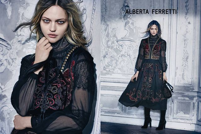 Alberta Ferretti Fall Winter 2015 Ad Campaign