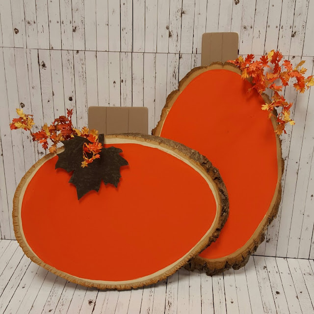 Log Diy Pumpkin @craftsavy, #craftwarehouse, #pumpkin, #diy, #log