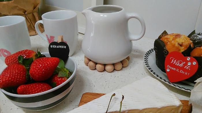 desayuno romántico con diy
