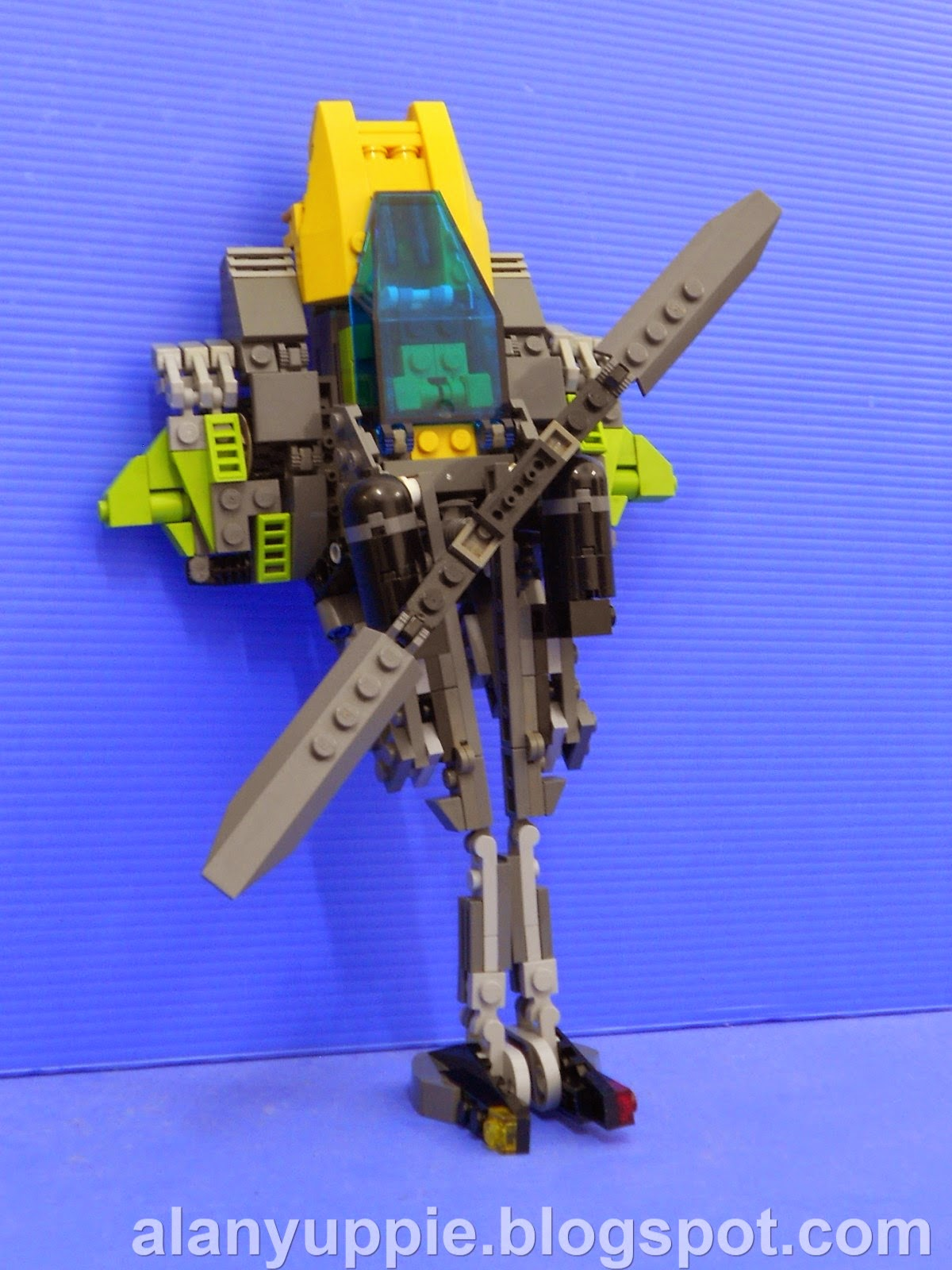 Alanyuppies Lego Transformers Lego Springer V15 Updated With