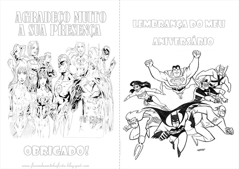 imagens para colorir liga da justiça - Desenhos da Liga da Justiça para Colorir Imprimir