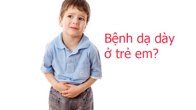 Chữa bệnh đau dạ dày cho trẻ bằng biện pháp tự nhiên