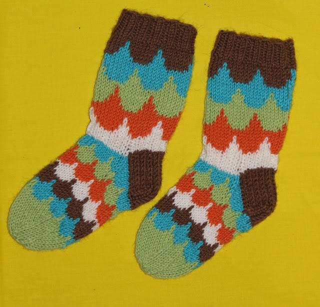 Pilvenreunalla sukat -ohje