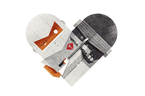 Versus/Hearts by Dan Matutina - Ninja & Ninja