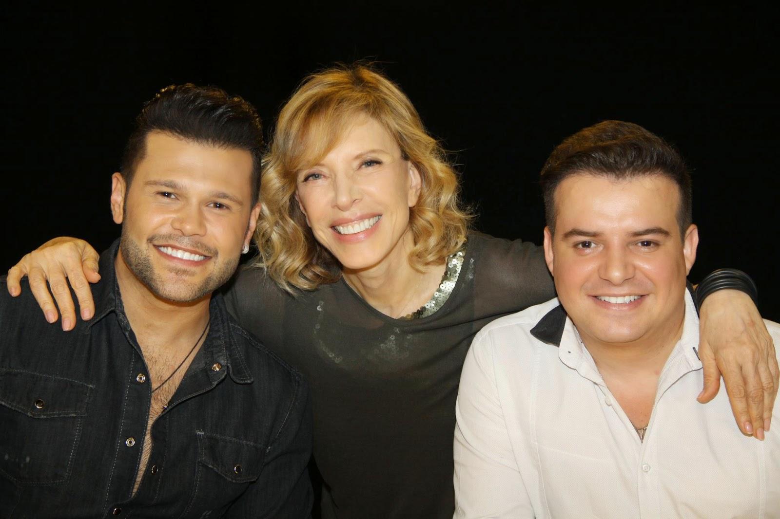 Marcos, Gabi e Belutti (Crédito: Carol Soares/SBT)