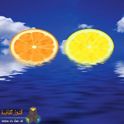 الليمون, عصائر الليمون, فوائد الليمون, فائدة الليمون
