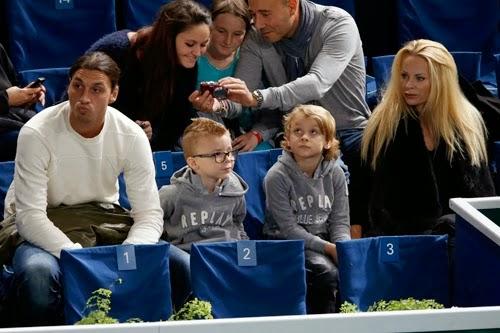 Photo de Zlatan Ibrahimović & son  fils  Maximilian