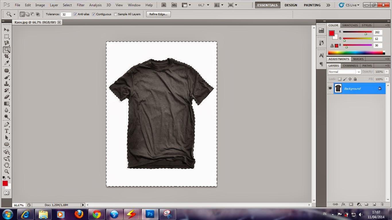Tutorial Membuat Desain Gambar Kaos Horor
