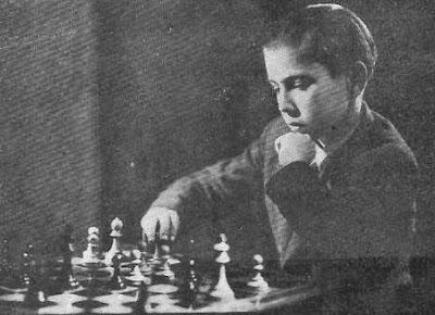 El ajedrecista español Arturito Pomar