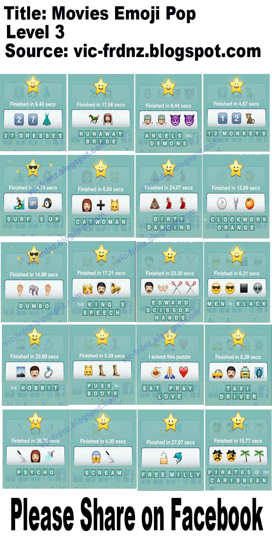 Movies Emoji Pop Answers | Frdnz