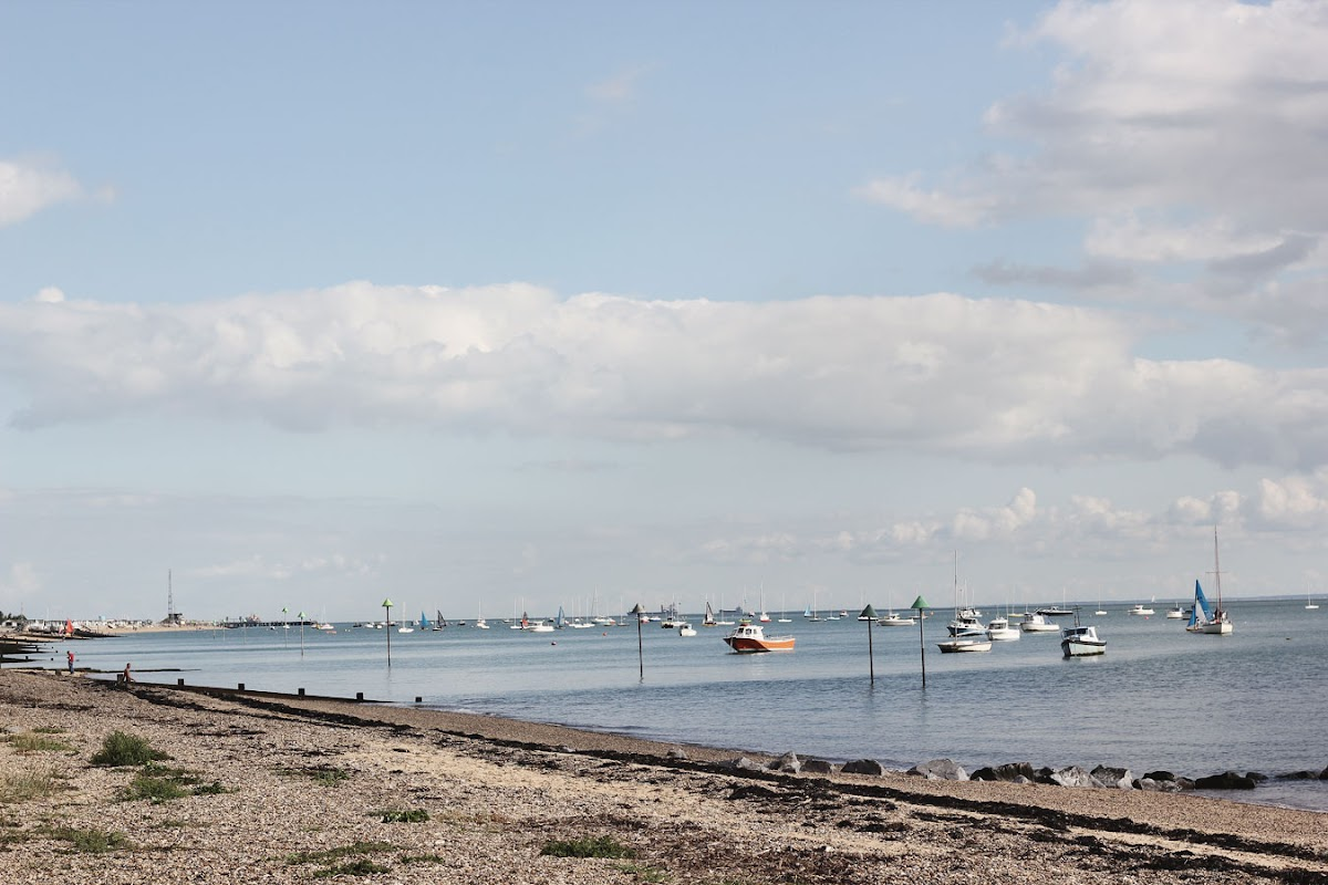 thorpe bay beach southend essex