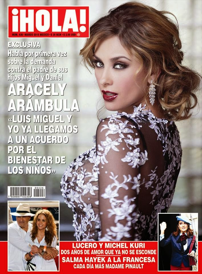 Actress, Model, Singer @ Aracely Arambula - Hola Mexico, March 2015