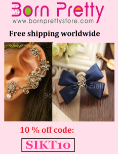 Born pretty - get 10% off with the code below :)