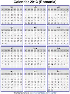 Calendar 2013 - 1