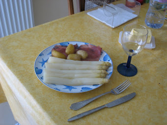 My beloved white asparagus