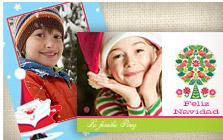 Tarjetas de felicitacion de navidad con fotos hacer - Disenar tarjetas de navidad ...