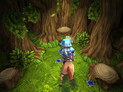 """lastknight-forest [Unreal Engine] Conheça """"Last Knight"""" da Crescent Moon games para iPhone e iPod Touch"""