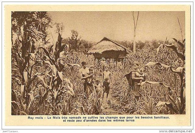 Bản làng người Mạ xưa