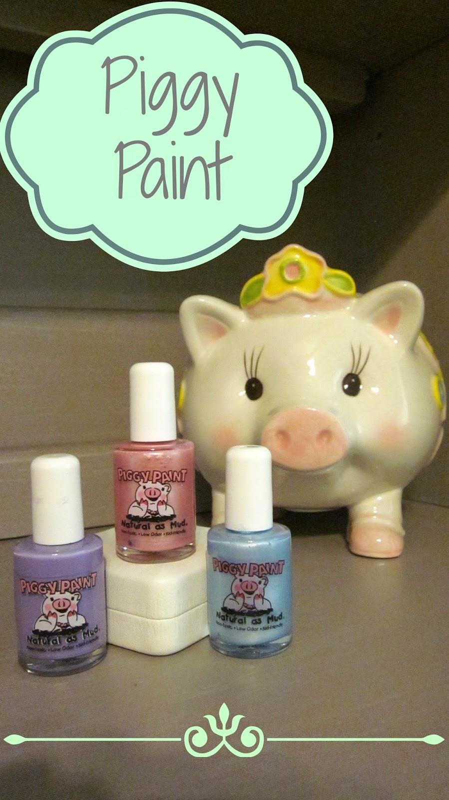 Piggy Paint, Kid nail polish, baby nail polish, safe kid nail polish