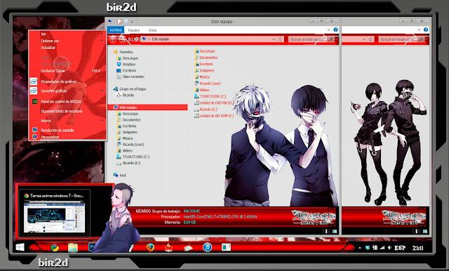 Tokyo Ghoul [ Theme Windows 8 ] 3