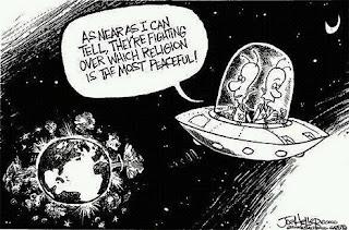 The Religions of Peace - cartoonist Joe Heller
