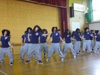 明徳高校ダンス部の踊り
