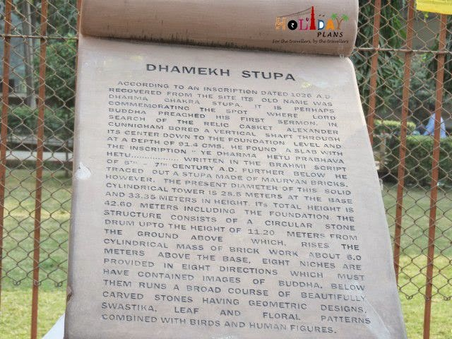 Details about Dhamek Stupa