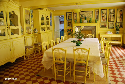 (France) – Cladue Monet's House - Dining Room