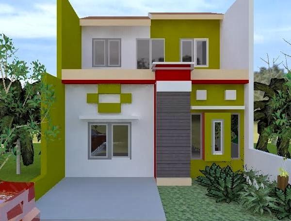 pilihan warna rumah minimalis