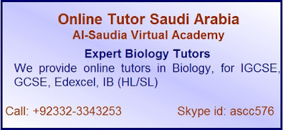 Online A level Biology Tutors in Saudi Arabia