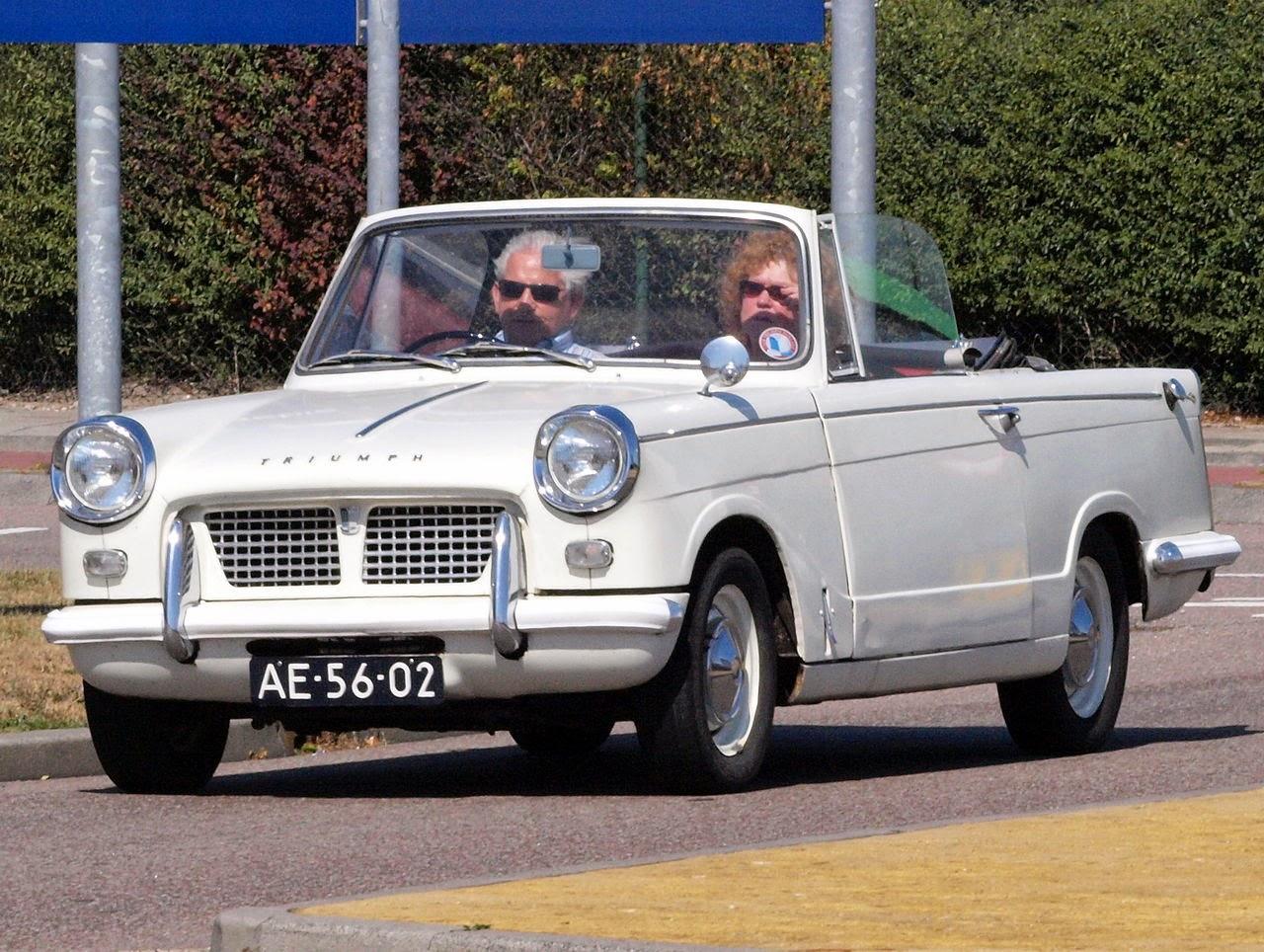 Fab Wheels Digest F W D Triumph Herald 948 1200 1250