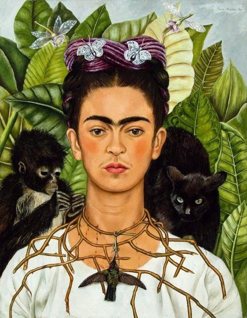 Pintura Frida Khalo