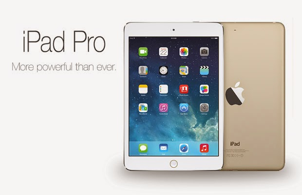 Apple iPad Pro rumored to include Apple A8X chipset