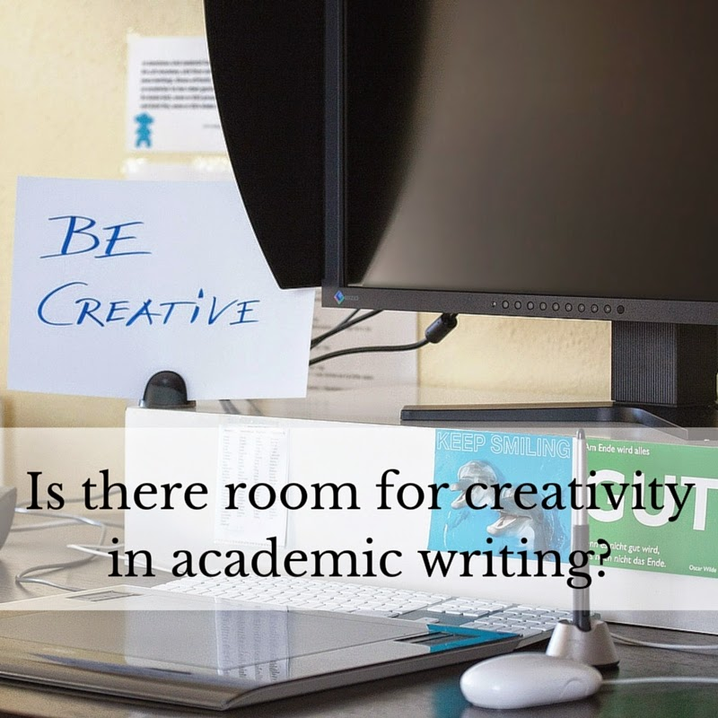 Does creativity belong in academic writing?