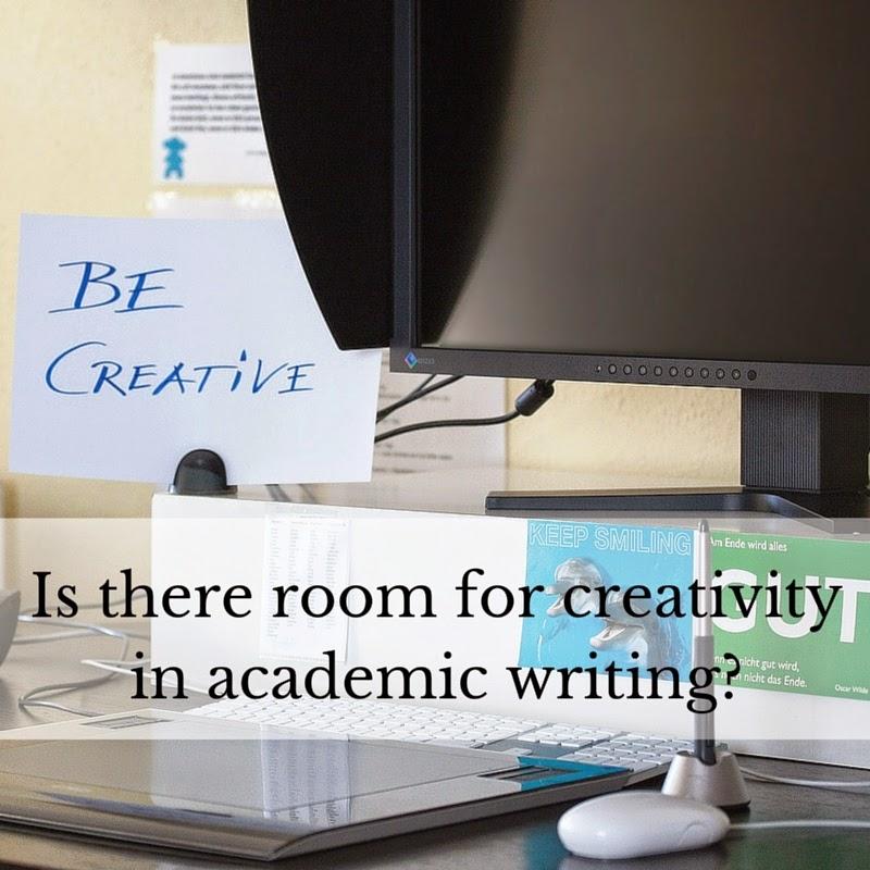 Does creativity belong in academic writing?
