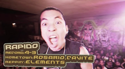 FlipTop, Rapido vs Shernan, Isabuhay Tournament 2, Grain Assault 6