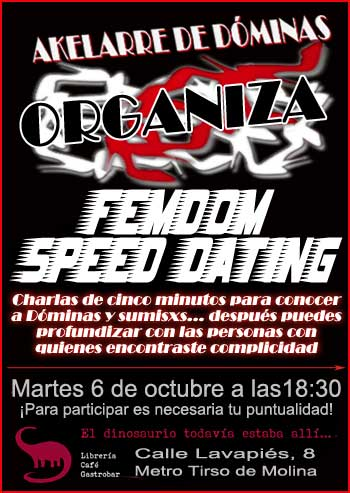 Speed dating brighton 18 30