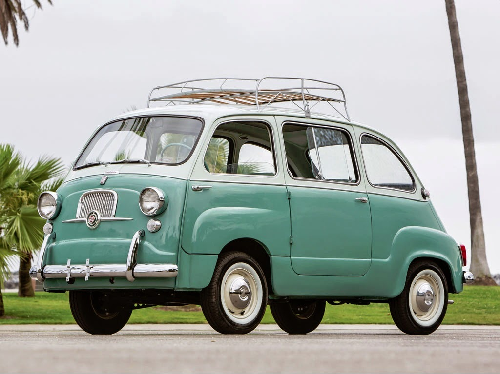 world of classic cars fiat 600 multipla 1957 fiat 600 jolly 1961 world of classic cars. Black Bedroom Furniture Sets. Home Design Ideas